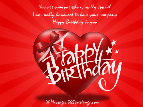 Birthday wishes for someone special 365greetings birthday messages for someone special m4hsunfo