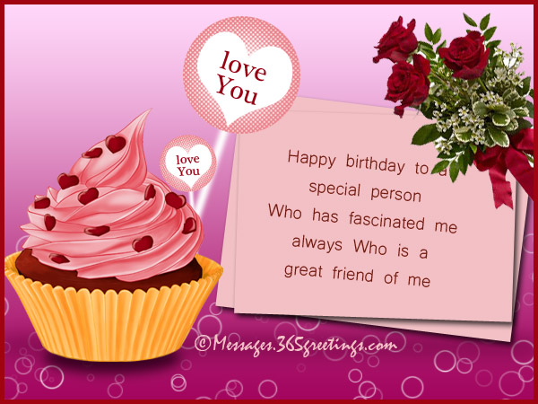 Birthday Wishes for Someone Special 365greetings – Special Birthday Greeting