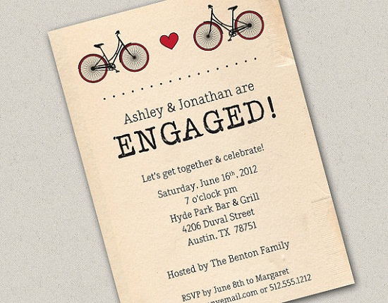 Format Of Engagement Invitation Engagement Invitation Wording  365Greetings