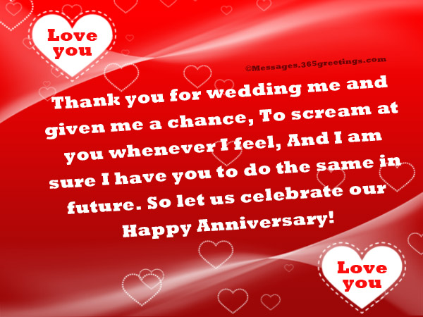 Funny Anniversary Wishes Hy Messages