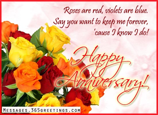 Greetings For Wedding Anniversary Messages