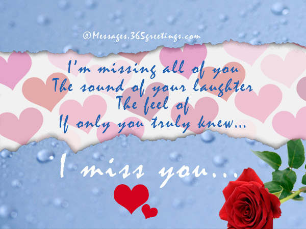 Missing you messages for boyfriend 365greetings i miss you text messages m4hsunfo