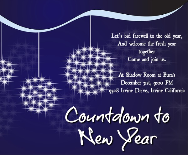 New year party invitation wording 365greetings new year party invitation wording sample 6 stopboris Choice Image