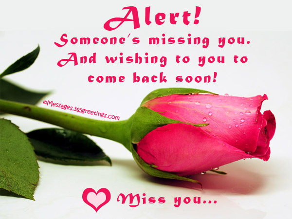 Romantic i miss you text messages