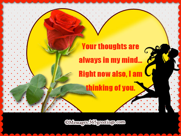 Thinking of you sms text messages