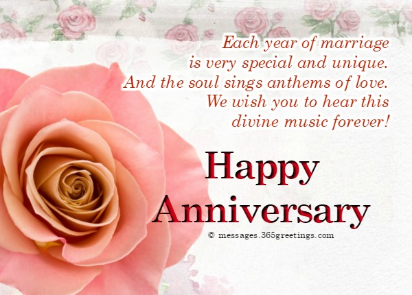 Wedding anniversary messages for friends greetings