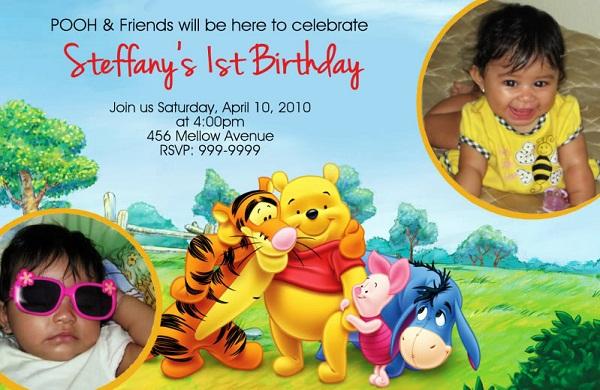 Winnie the pooh birthday invites 365greetings winnie the pooh birthday invites filmwisefo