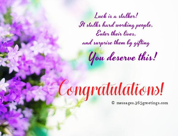 Congratulation Messages - 365greetings com