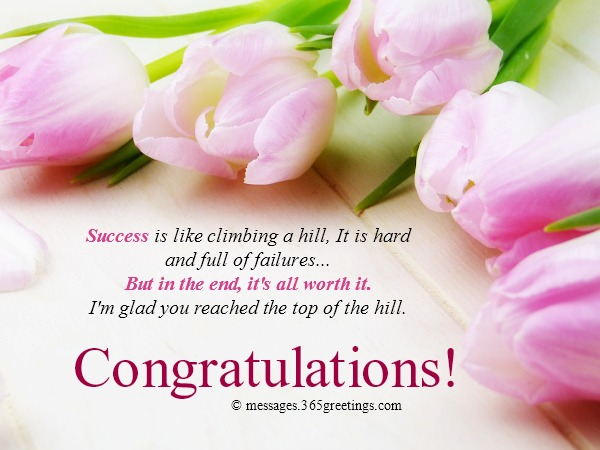 Congratulation Messages 365greetings