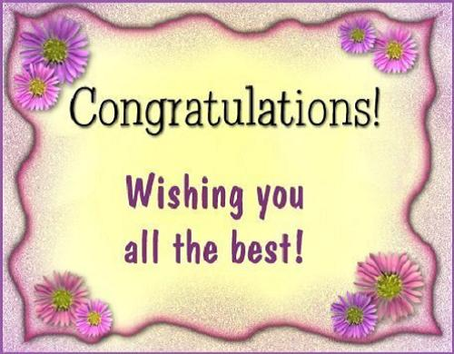 Image result for congratulation message