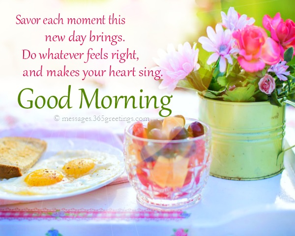 Romantic Good morning Messages and Quotes - 365greetings com