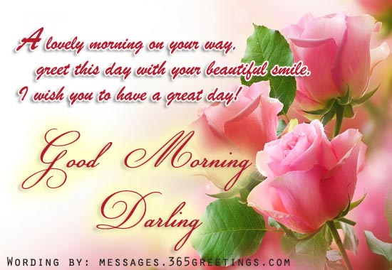 Romantic Good morning Messages and Quotes - 365greetings.com