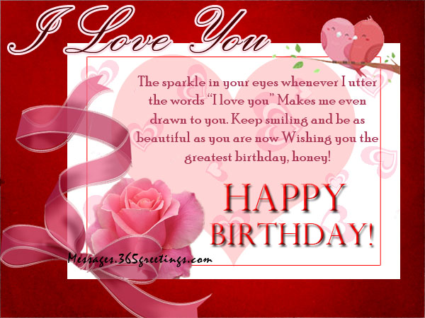 romantic birthday wishes  messages, greetings and wishes, Birthday card