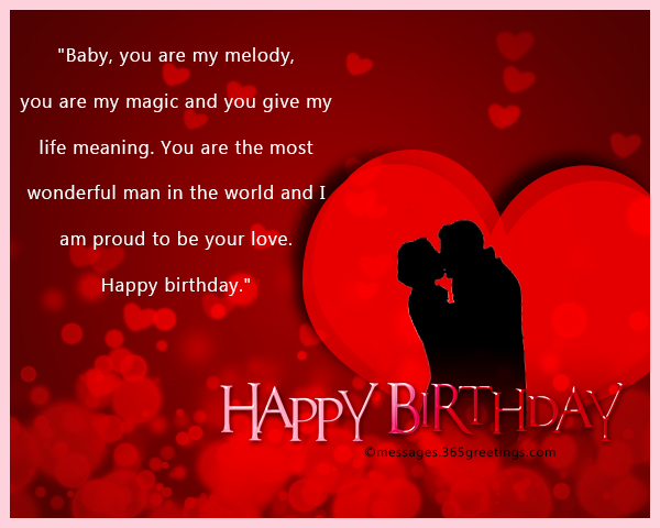 Romantic Birthday Wishes For Your Love