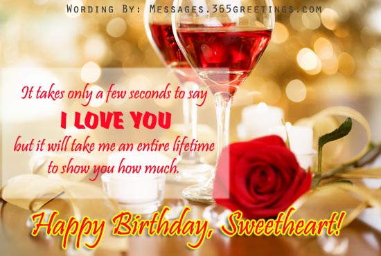 Romantic Birthday Wishes Image