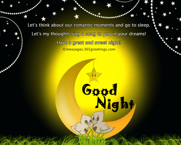 sweet good night messages   365greetings