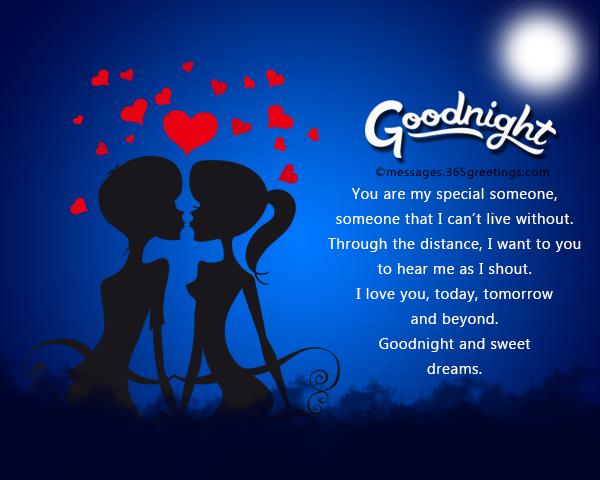 Romantic Good Night Messages 365greetingscom