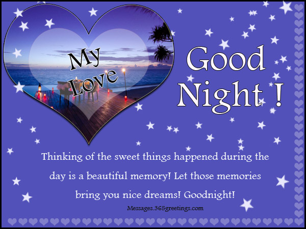 Good night ecards romantic
