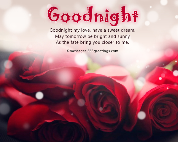 Romantic Goodnight Messages 365greetings Com
