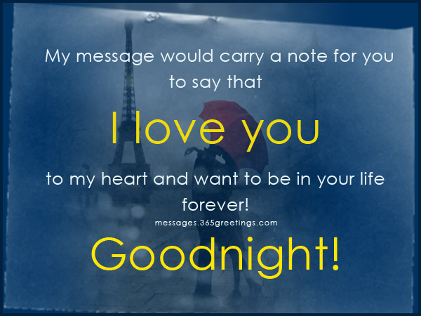Beautiful Romantic Good Night Messages For Wife