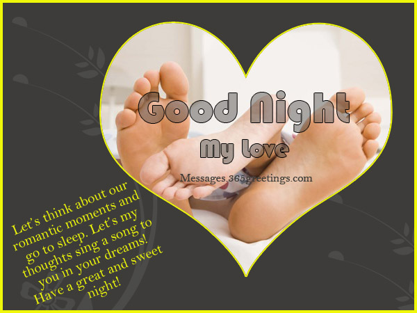 Romantic Good Night Messages. U201c