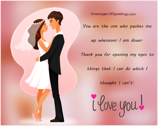 Romantic Messages for Wife - 365greetings com