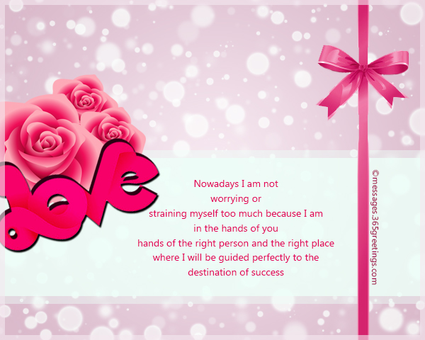 Romantic Messages - 365greetings com