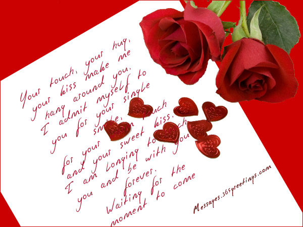 Romantic card messages