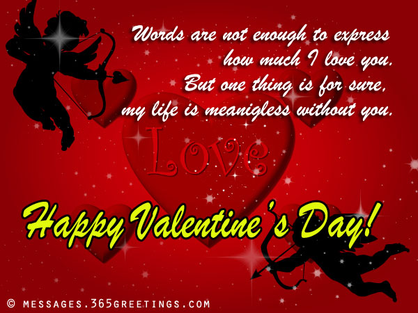 Romantic Valentines Day Messages And Greetings 365greetings Com