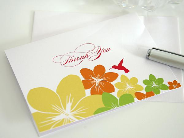 A great Thank you Card