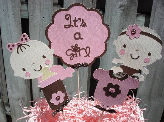 Girl Baby Shower Character Themes 550 x 410