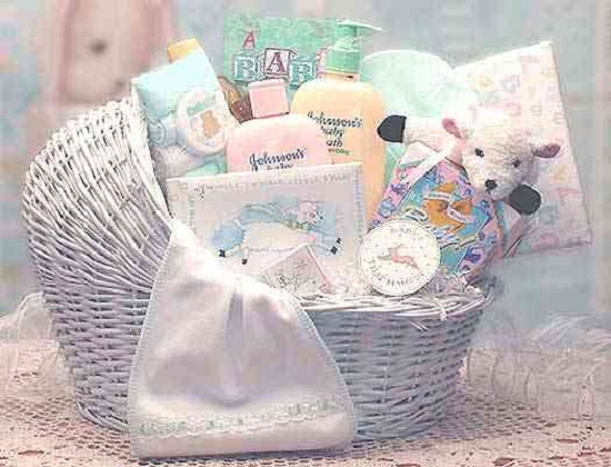 Baby shower gift basket 365greetings baby shower gift basket negle