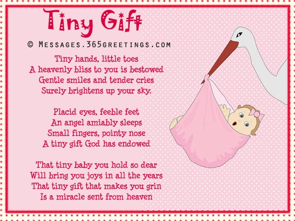 Baby Shower Poems 02 365greetings Com