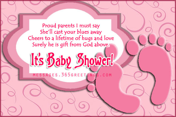 Free Sweet Baby Shower Poems 365greetings Com