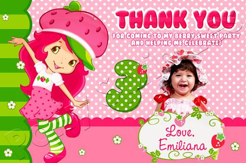 Birthday Thankyou Card 365greetings