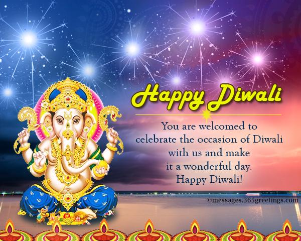 Diwali invitations and wordings 365greetings diwali party invitation wordings stopboris Images