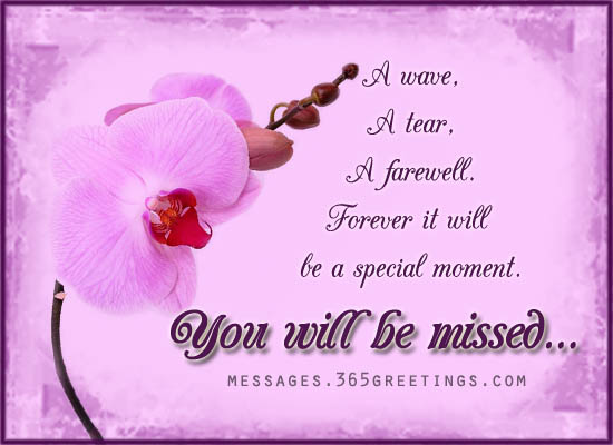 Farewell Messages Wishes And Sayings 365greetings Com