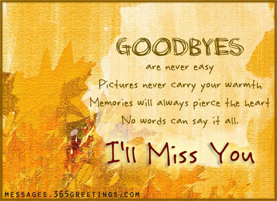 Farewell Messages, Wishes and Sayings - 365greetings.com