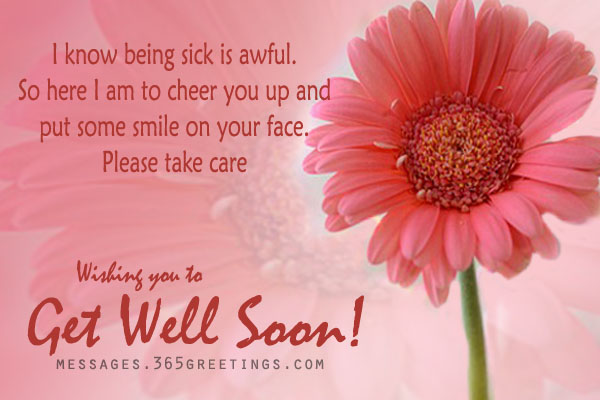 Get Well Soon Sms - 365Greetings.Com