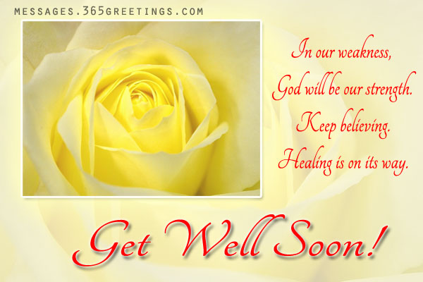Get well soon messages 365greetings get well soon messages m4hsunfo Choice Image