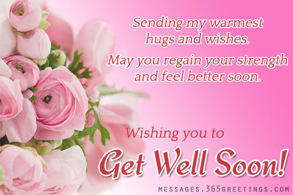 Feel Better Soon Quotes Magnificent Get Well Soon Messages And Get Well Soon Quotes  365Greetings