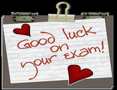 Good Luck Messages For Exam  Exam Best Wishes Cards