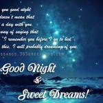 good-night-greeting-card