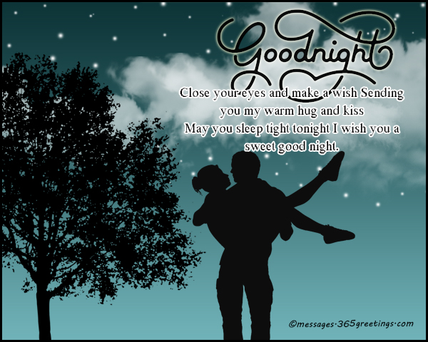 Love sms for good night messages