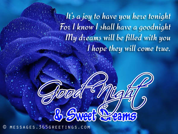 Goodnight Messages Images 365greetings Com