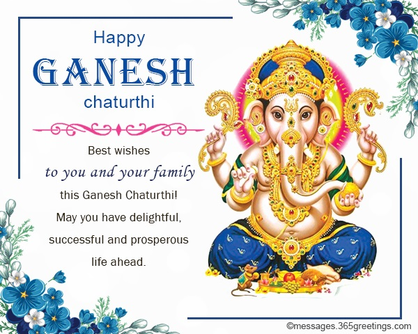 Ganesh chaturthi wishes messages and ganesh chaturthi greetings you can use these happy ganesh chaturthi wishes to cards email messages social media account statuses and ecard messages feel free to send these samples m4hsunfo