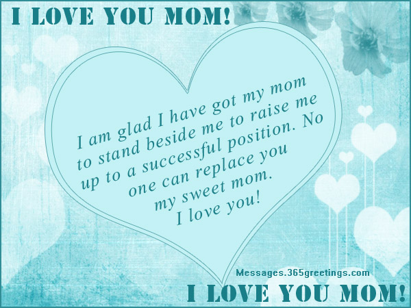 Sweet Love Letter To My Mom