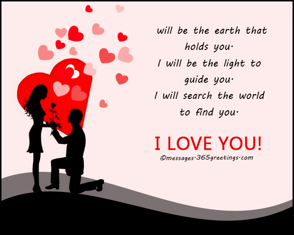 I Love You Messages - 365greetings.com