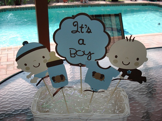 baby boy s elephant baby shower items decorations