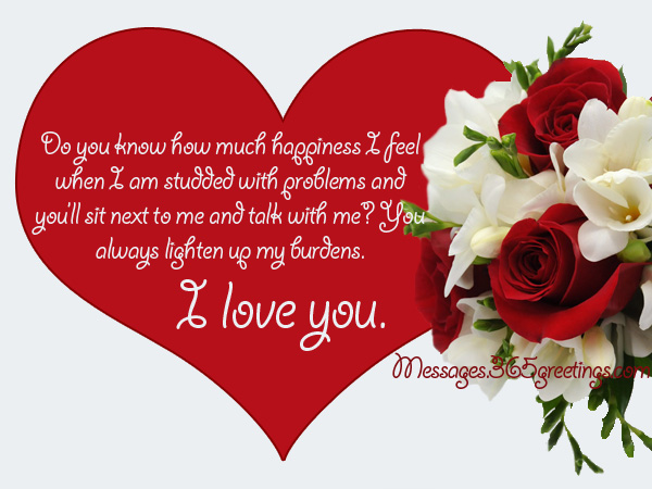 Sweet and romantic message for boyfriend